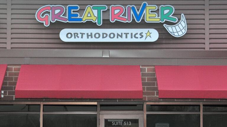 Great River Orthodontics Holmen location storefront