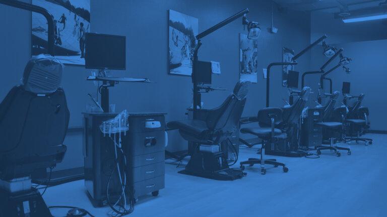 Inside Great River Orthodontics Holmen location office